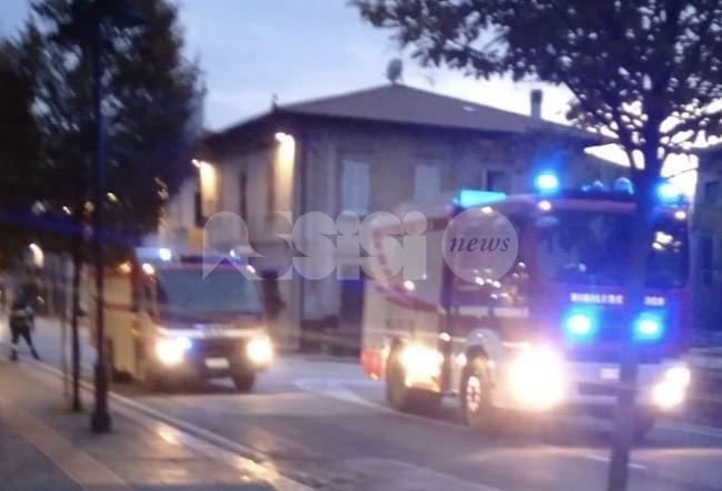 Termocoperta prende fuoco, paura in un'abitazione a Santa Maria degli Angeli