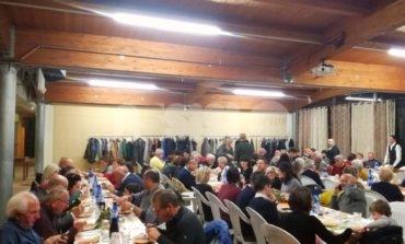 Amici della montagna, una cena per festeggiare l'anno sociale 2019