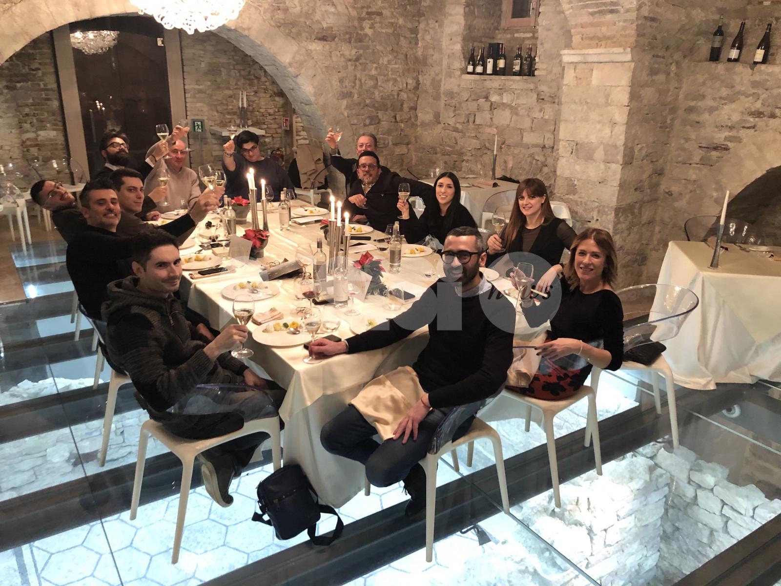BertiDesign, cena insieme per concludere un entusiasmante 2019 (FOTO)