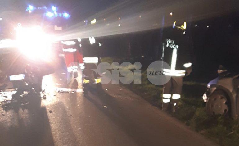 Incidente a Petrignano di Assisi, tre feriti in ospedale