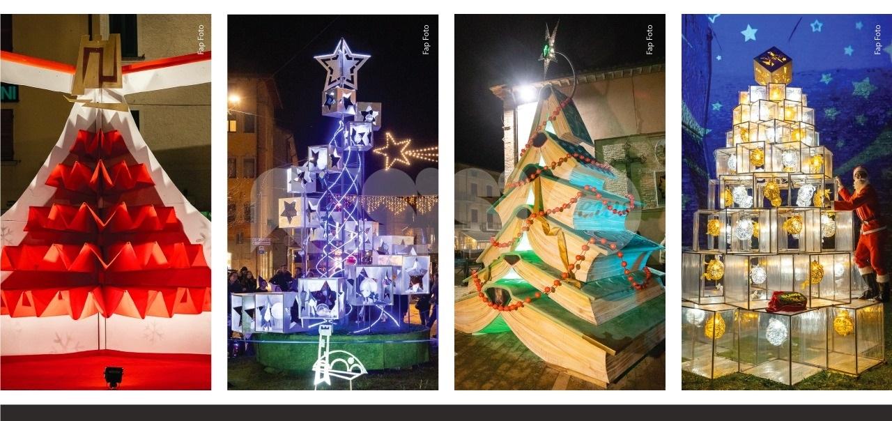 Alberi artistici dei 4 rioni 2019, accensione l'8 dicembre a Bastia Umbra
