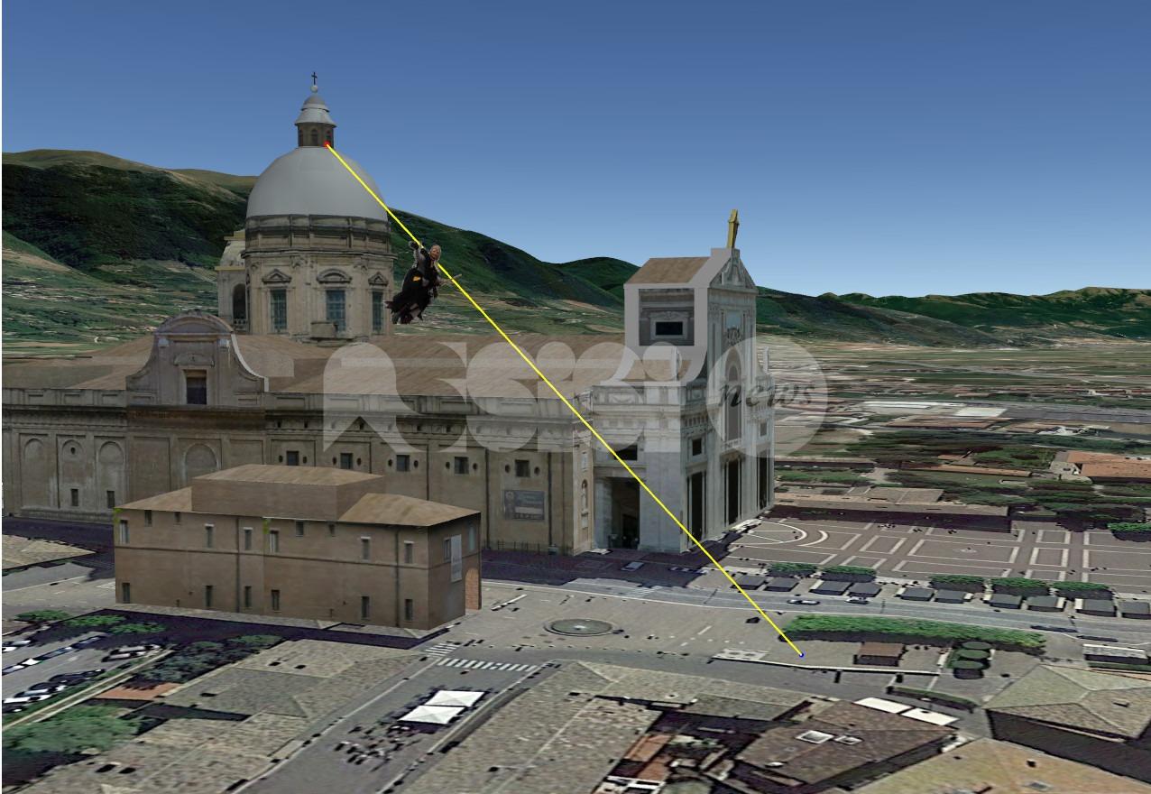La Befana più alta d'Europa è dei Priori Serventi 2020: scenderà dal cupolone della Basilica di Santa Maria degli Angeli