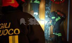 Incendio a una canna fumaria, vigili del fuoco sventano il peggio a Bastiola (foto)