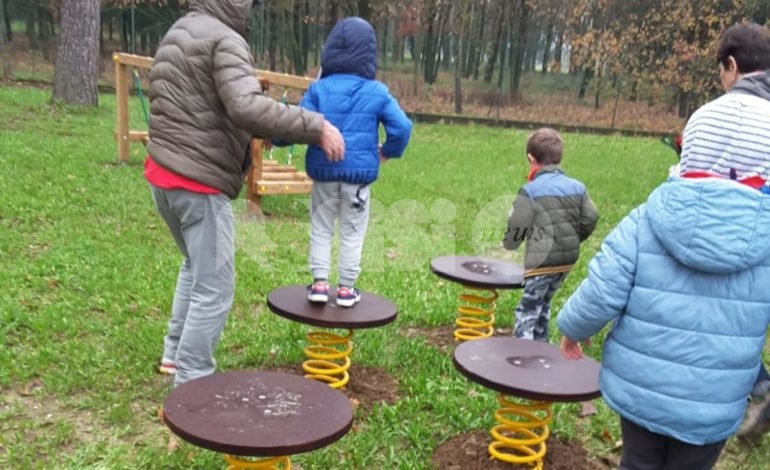 Outdoor Education, a Petrignano e Torchiagina due nuove aree gioco