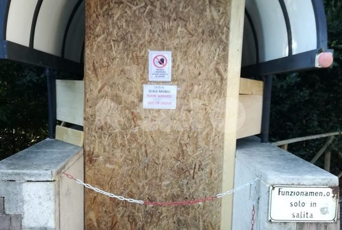 Ripristino delle scale mobili del Parcheggio Porta Nuova, arriva la petizione