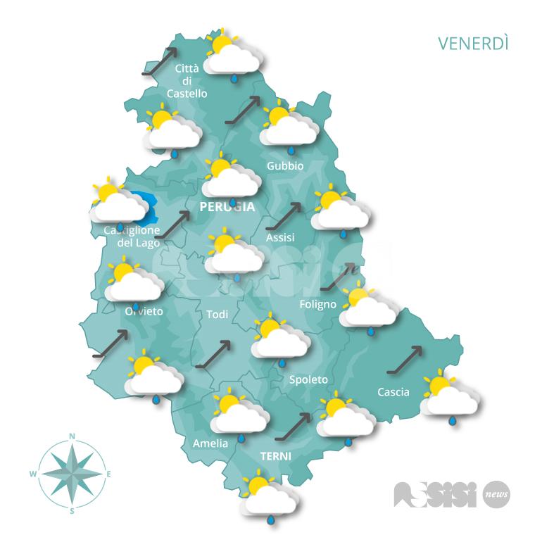 Meteo Assisi 31 Gennaio 2 Febbraio 2020 Clima Mite Per Il Periodo