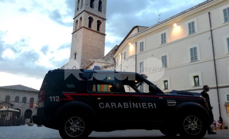 Feste sicure, per i carabinieri di Assisi 12 denunce a fine anno