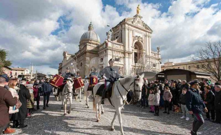La Fanfara a cavallo della Polizia di Stato protagonista del Piatto di Sant'Antonio 2020
