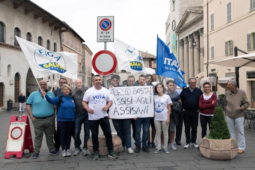 """Piazza del Comune chiusa, la Lega: """"Giunta sorda ai bisogni dei cittadini"""""""