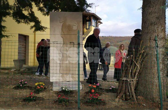 Il pusatoio, a Mora di Assisi un'opera che ricorda le mamme di una volta
