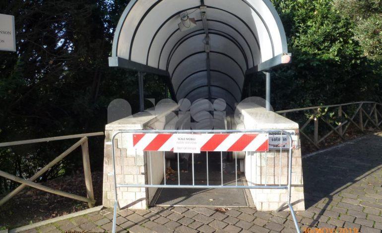 """Scale mobili del parcheggio di Porta Nuova, Edo Romoli: """"Cattiva amministrazione"""""""
