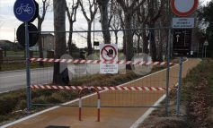 Pista ciclabile Rivotorto-Assisi chiusa, il consigliere Bastianini si mobilita