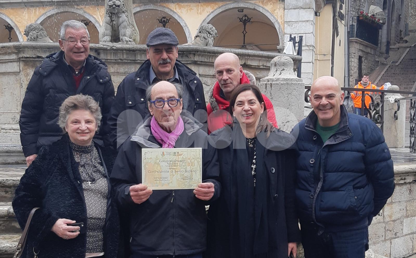 Concorso presepi 2019 ad Assisi, i vincitori premiati in Comune (foto)
