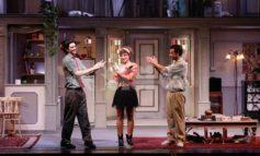 Andy e Norman con Gigi e Ross al Teatro Lyrick per Via col venti