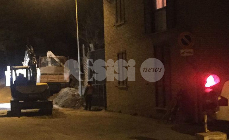 Cantiere in via Eremo delle Carceri, cambia la circolazione fino a venerdì
