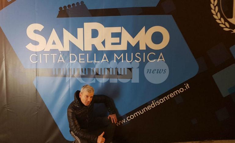 Eugenio Picchiani a Casa Siae per Sanremo 2020 con il videoclip di Eclissi