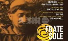 Frate Sole, al Lyrick proiezione con l'esecuzione live della colonna sonora