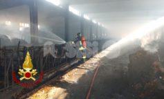 """Incendio in una stalla a Cannara, """"non ci sono ipotesi di inquinamento"""""""