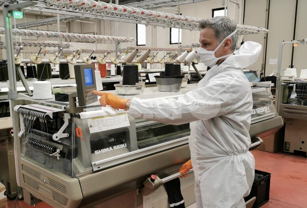 Novella Confezioni contro il coronavirus: arrivano le mascherine riutilizzabili