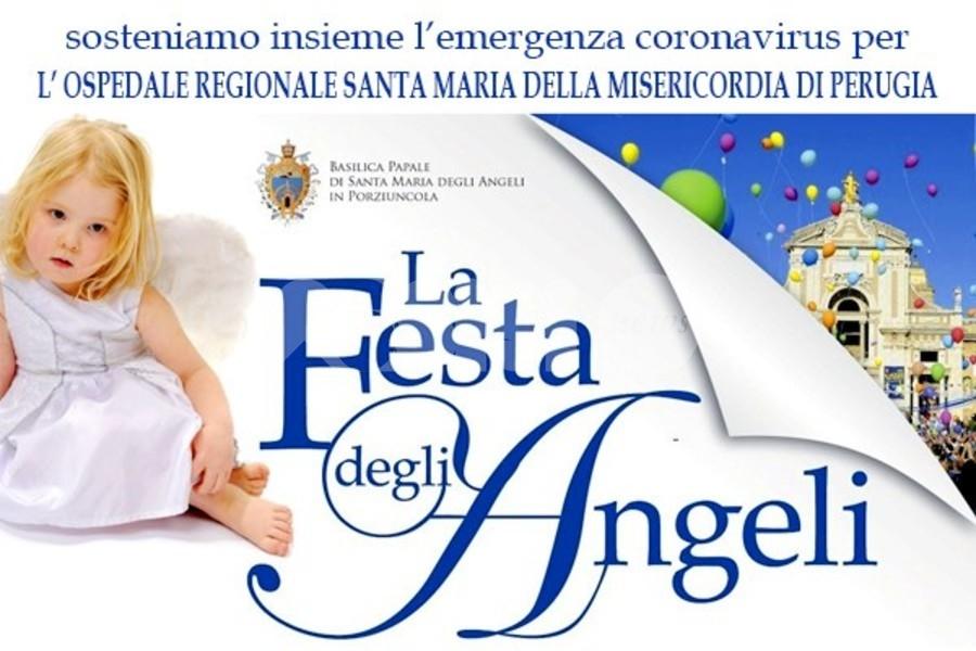 Festa degli Angeli, partita una raccolta per l'ospedale di Perugia: come aiutare