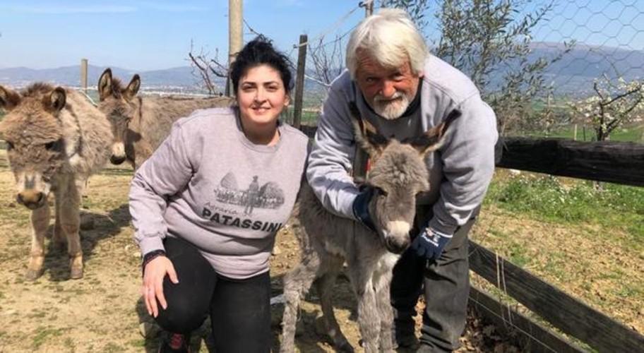 A Cannara nasce Italia: una femmina d'asino come messaggio di speranza