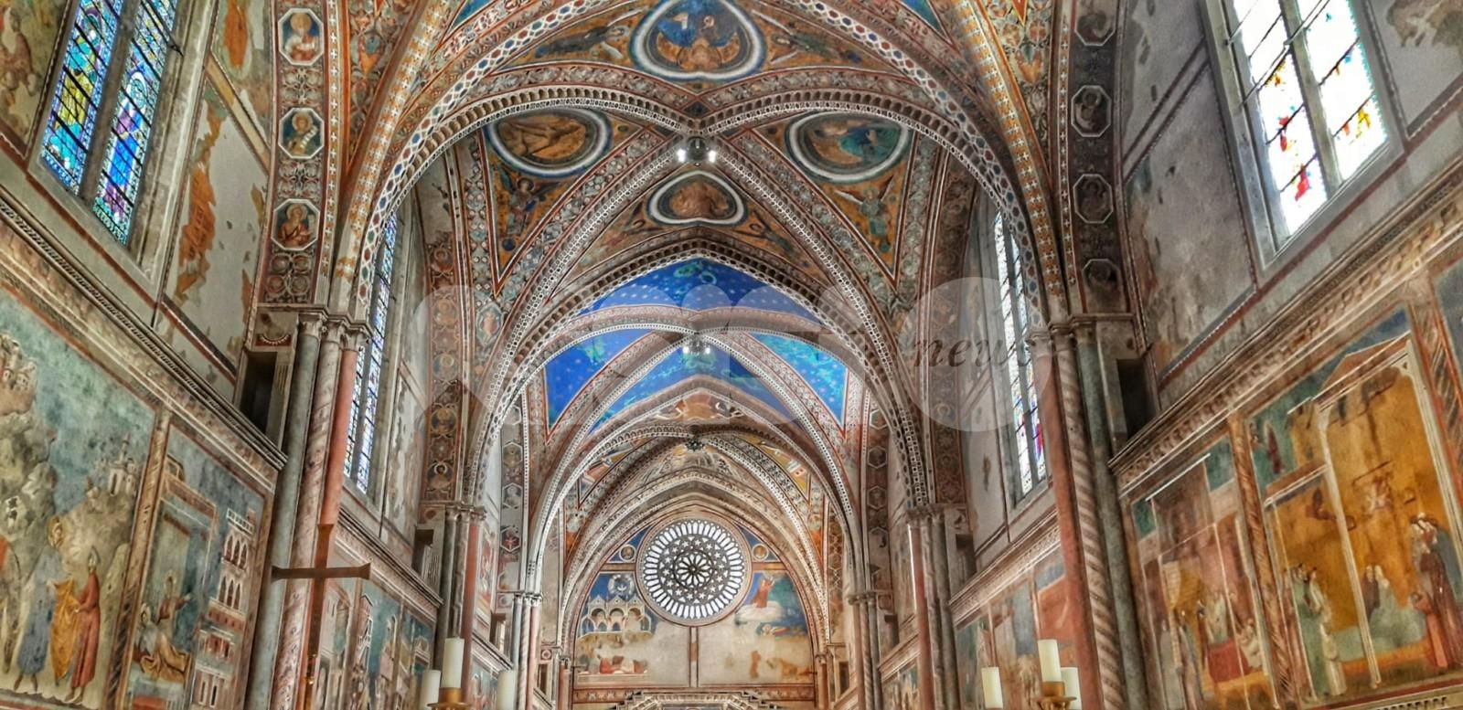 Basilica di San Francesco visitabile virtualmente: i frati aderiscono a #iorestoacasa