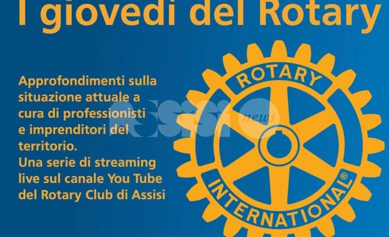 I giovedì del Rotary, partono il 26 marzo 2020 con il dottor Manuel Monti