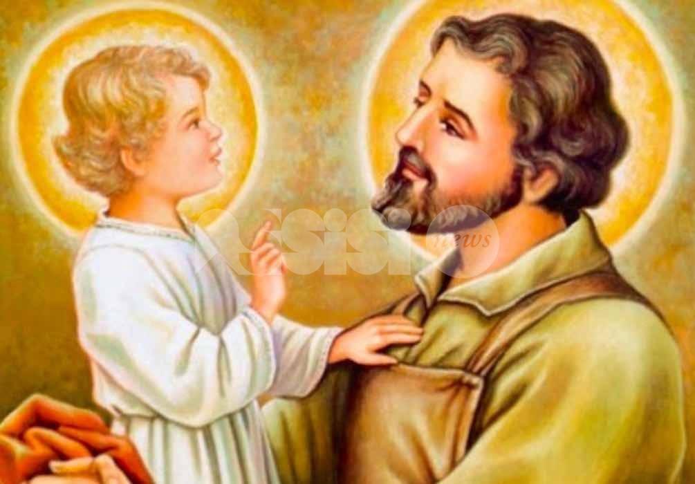 San Giuseppe castissimo sposo della Beata Vergine Maria alla Domus Laetitiae il 7 marzo