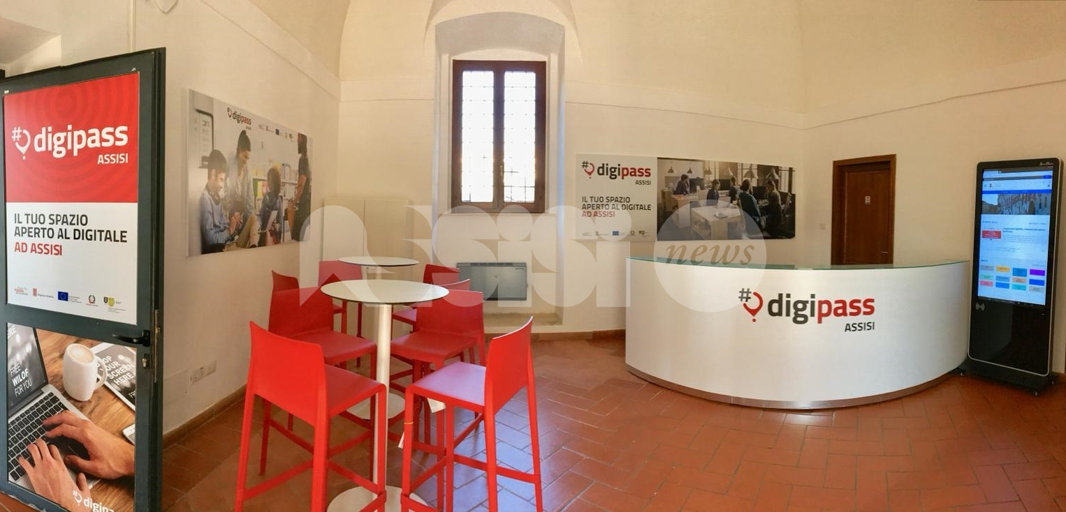 Primo Maggio Digitale nei Digipass umbri: Assisi apre la giornata di appuntamenti