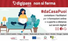 #dacasapuoi, i DigiPASS della Regione Umbria rimangono vicini agli utenti