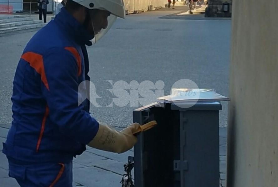Cassetta elettrica stradale da rinnovare, temporanei disagi lunedì a Bastia Umbra