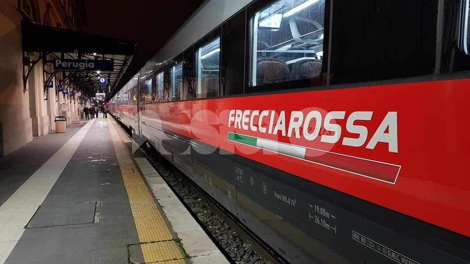 Frecciarossa da e per l'Umbria, alta velocità confermata anche nel 2021