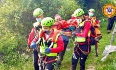 Escursionista infortunata, intervento del Sasu a Spello