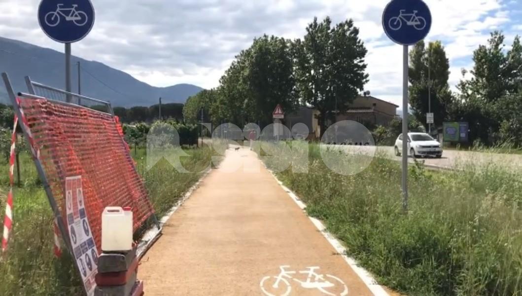 Ciclabile Assisi-Spoleto, lavori al via con qualche polemica
