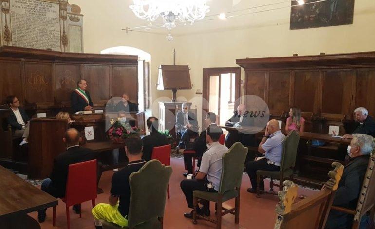 Bettona, il prefetto Sgaraglia incontra amministratori e cittadini (foto)