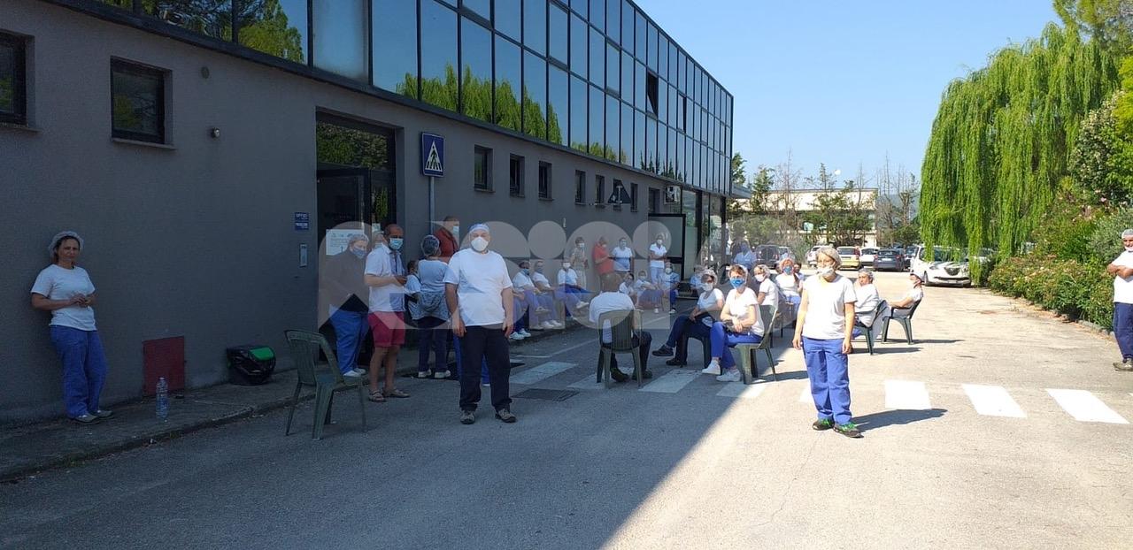 Sogesi di Cannara, rappresentanti dei 200 dipendenti a rischio in Regione