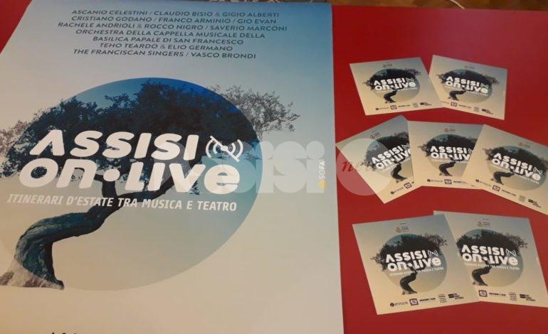 Programma di Assisi OnLive 2020, tanti eventi ad agosto e settembre