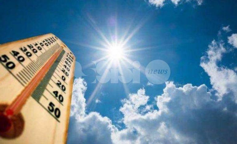 Meteo Assisi 7-9 agosto 2020: tornano sole e bel tempo, temperature in aumento