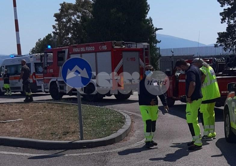 Atterraggio difficoltoso, allarme risolto all'aeroporto di Perugia (foto)