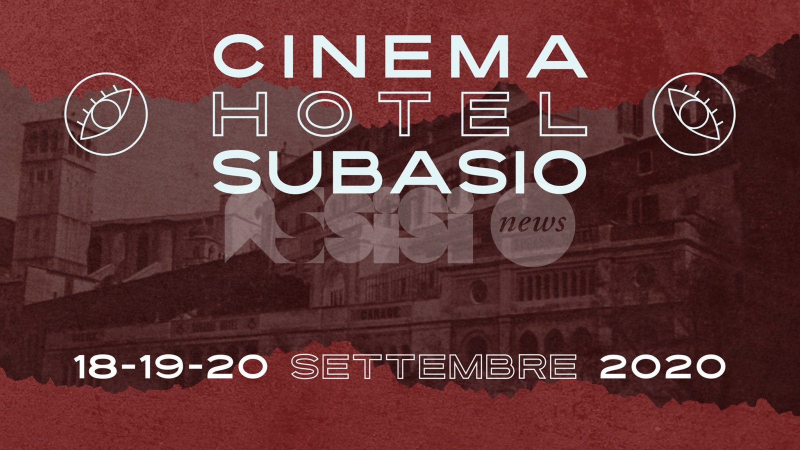 Cinema Hotel Subasio, da venerdì 18 la rassegna tra cinema e legalità