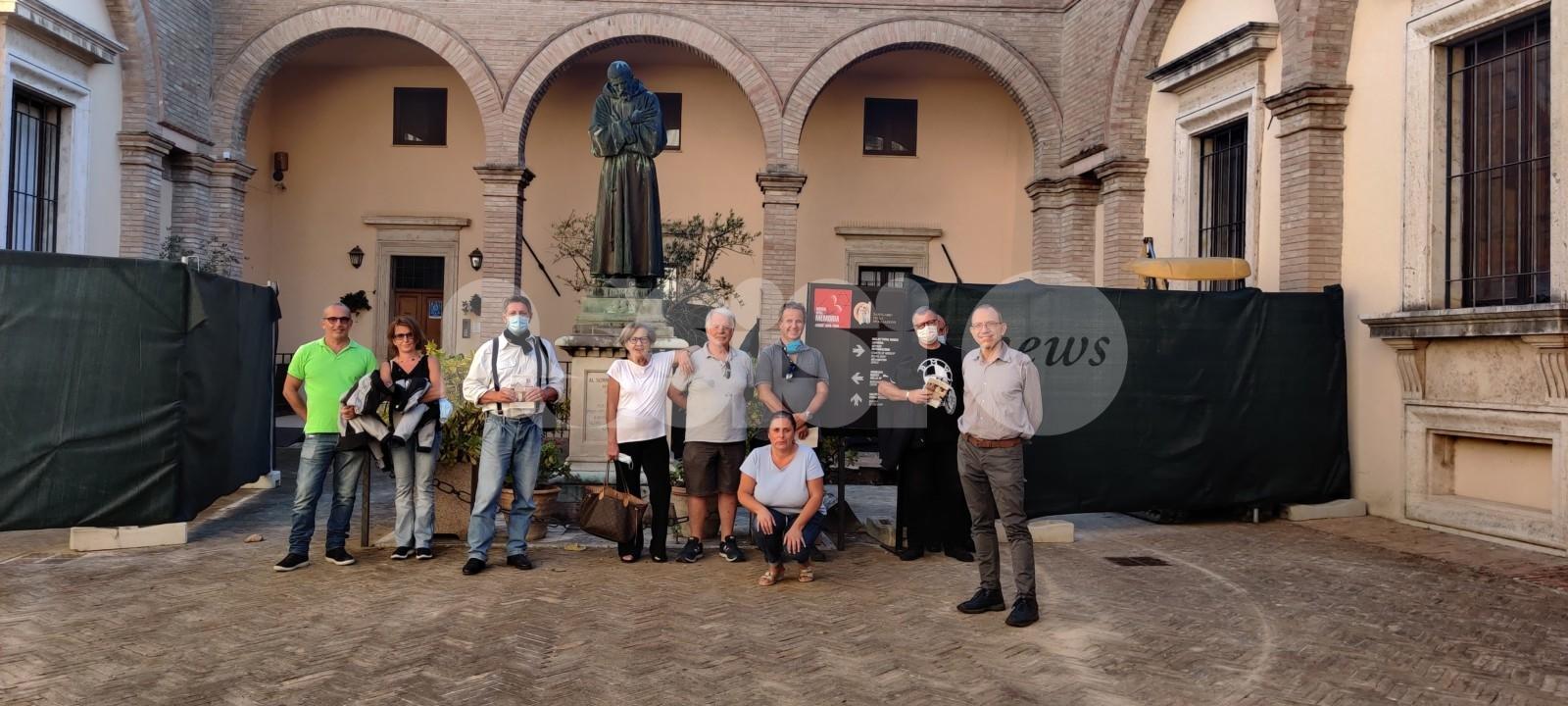Maccabi Roma Motoclub, visita al Museo della Memoria ad Assisi