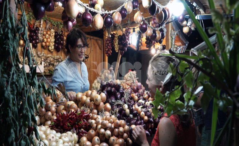 Mostra mercato della cipolla e dei prodotti tipici, tutto pronto a Cannara