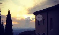 San Francesco tra le nuvole di Assisi, la foto impazza sul web