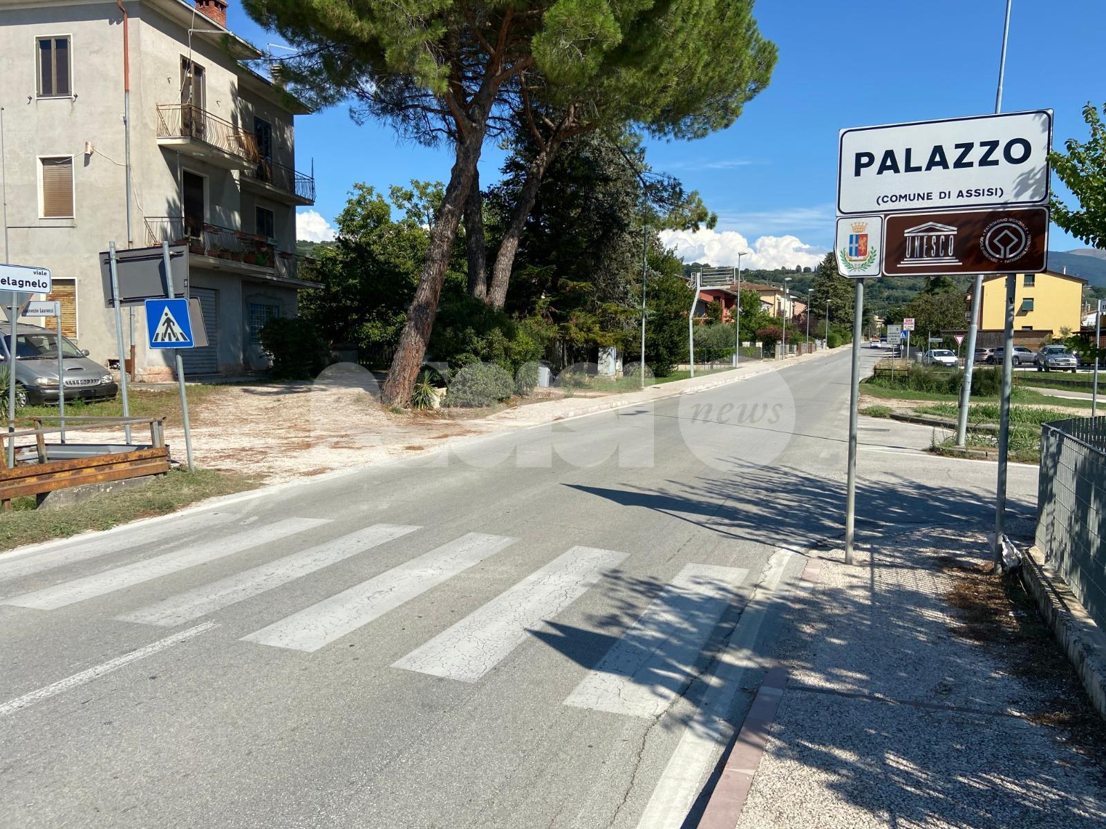 """Attraversamenti pedonali a Palazzo, Travicelli: """"Fatti male, vanno sul marciapiede"""""""