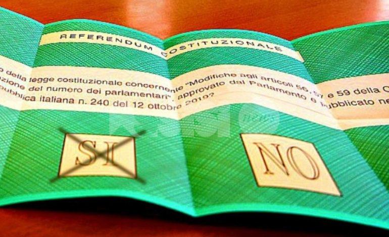 Taglio dei parlamentari, anche in Umbria vince il sì con quasi il 70%