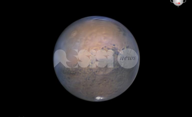 Marte, la grande opposizione del 2020 dai cieli dell'Umbria (foto)