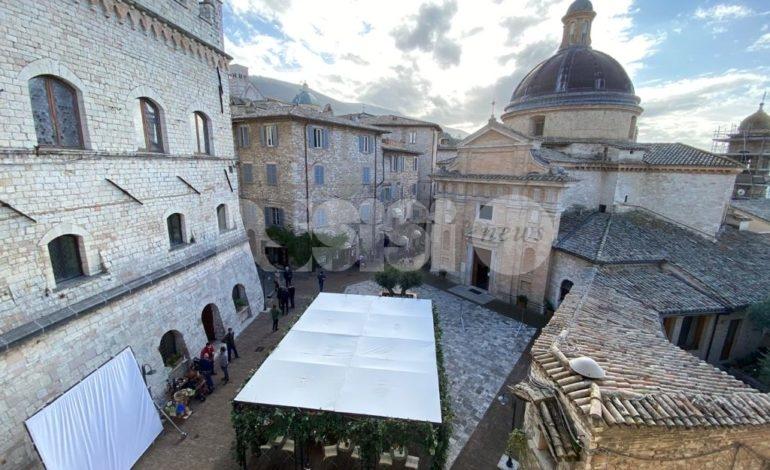 Riprese della sesta stagione di Che Dio Ci Aiuti, cast e troupe di nuovo ad Assisi