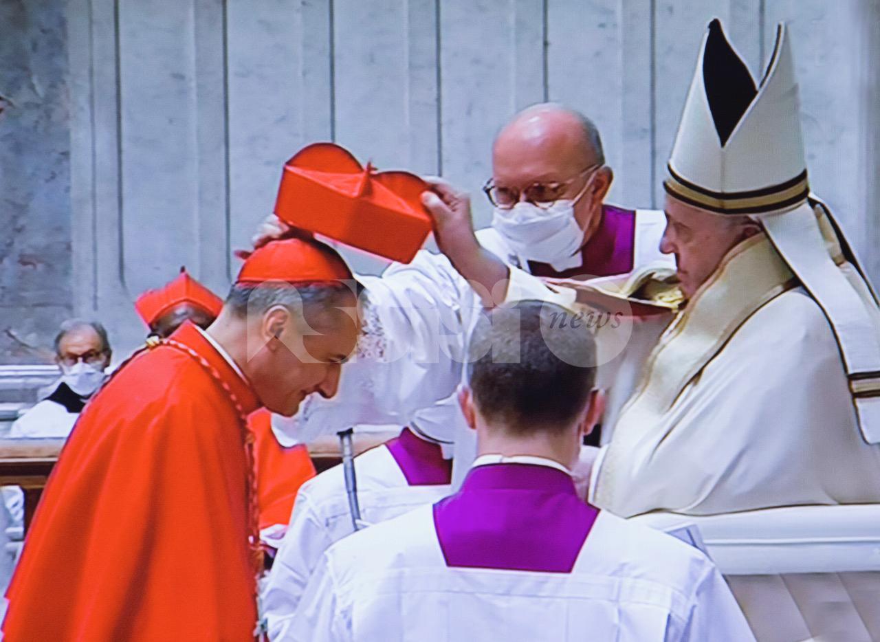 Il cardinale Mauro Gambetti nuovo vicario del Papa per la Città del Vaticano