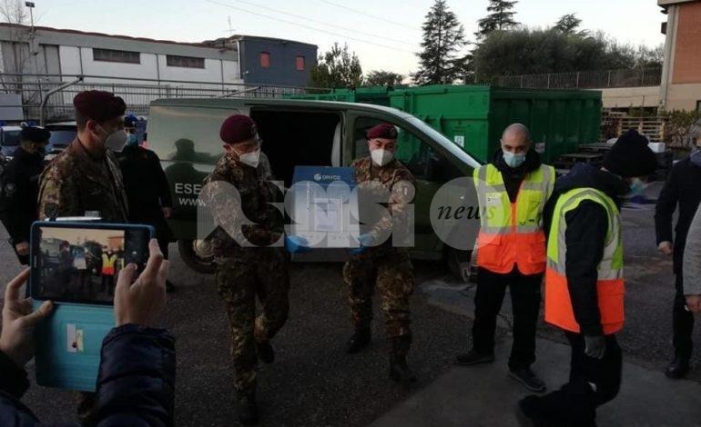 Il vaccino per il Covid 19 è arrivato in Umbria: 85 le persone vaccinate oggi