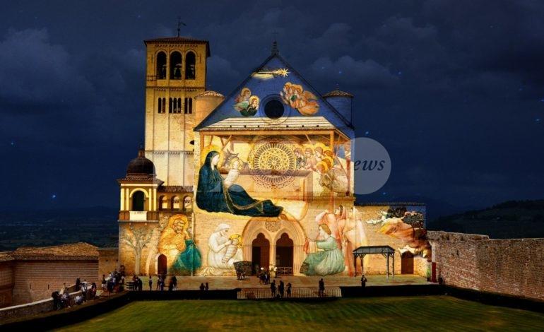 Natale ad Assisi 2020: la città diventa un presepe di luce con il Natale di Francesco